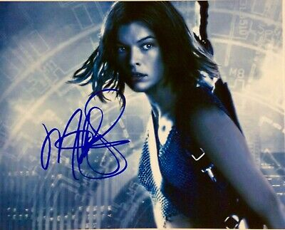 $125 • Buy MILLA JOVOVICH  Resident Evil  Autographed 10 X 8 Hand Signed Photo  COA