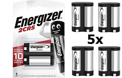 $ CDN51.22 • Buy CA BL151-5x Energizer 2CR5 / DL245 / EL2CR5 6V Lithium Battery 5 Pieces