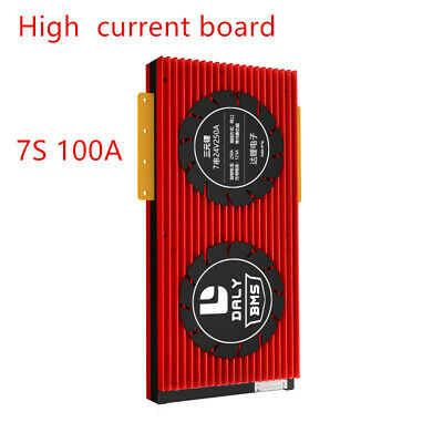 AU81.73 • Buy 7S 24V Lithium Battery Protection Board EBike 100A Balance Li-ion Lipo BMS New
