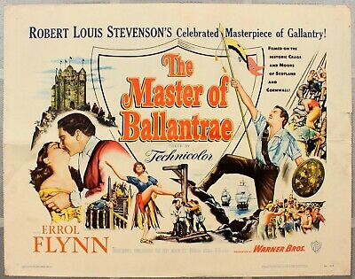 The Master Of Ballantrae DVD Errol Flynn And Roger Livesey Action 1953 Movie • 1.89£