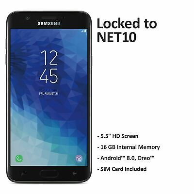 $69.99 • Buy Net10 Samsung Galaxy J7 Crown 4G LTE Prepaid Phone W/ $40 Airtime Plan Included