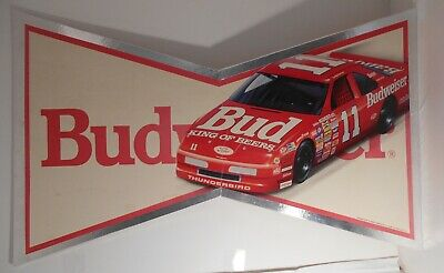 $ CDN52.36 • Buy 1990 Budweiser King Of Beers Geoff Bodine # 11 Ford Thunderbird Sign
