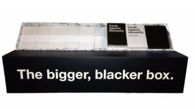 AU68.95 • Buy Cards Against Humanity The BIGGER BLACKER BOX + 1-6 Expansion Cards