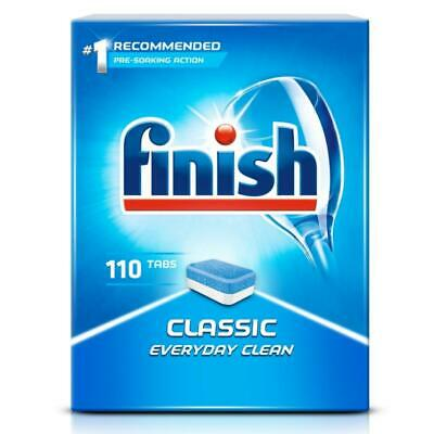 Finish Powerball Classic 110 Dishwasher Tablets Regular Everyday Clean • 11.59£