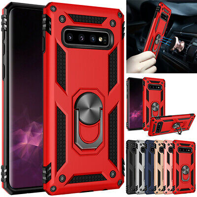 $ CDN5.05 • Buy Case For Samsung Galaxy S8 S9 S10 Plus Note 8 9 Magnetic Ring Holder Stand Cover