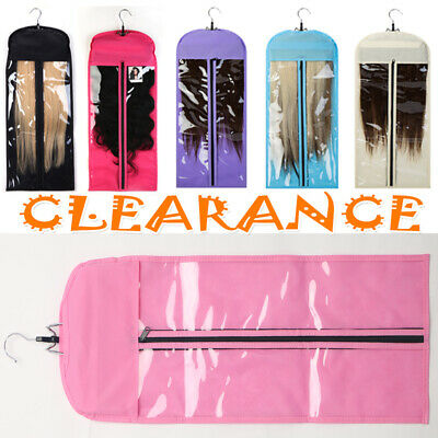 £12.32 • Buy Clearance Hair Extension Carrier Storage-Suit Case Hanger Hair Protecter Bags UK