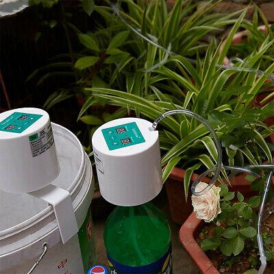 DIY Automatic Drip Irrigation System Kit Timer Self Watering Pot Plants Indoor • 29.95£