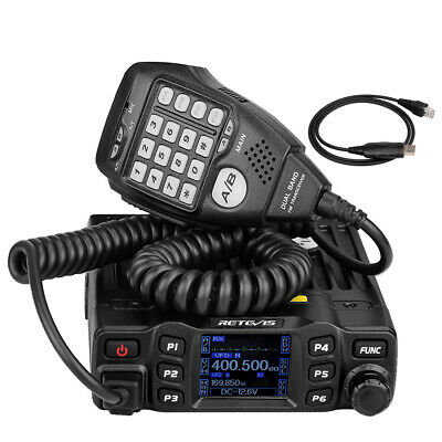 Retevis RT95 Mobile Car Ham Radio 200CH Dual Band(UHF+VHF) High Power CTCSS/DCS • 96.99£