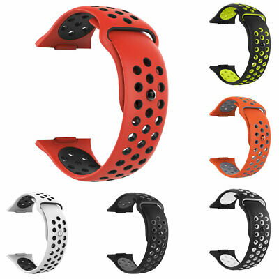 $ CDN5.96 • Buy Replacement Dual Color Silicone Watch Band Wrist Strap For Fitbit Ionic Welcome