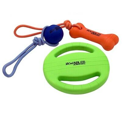 £8.95 • Buy Ancol Dog Toy Jawables Strong Floating Self-Healing Lightweight Ball, Bone, Disc