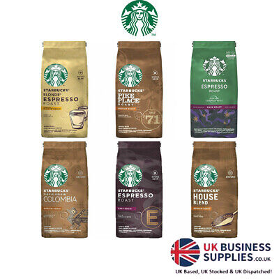 Starbucks Coffee Beans/Ground Filter Coffee 200g - Multi Pack Available • 7.79£