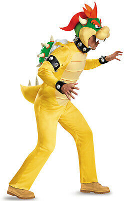 $54.06 • Buy Brand New Super Mario Brothers Bowser Deluxe Adult Costume