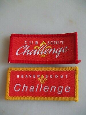 £0.99 • Buy Scout Badges - Beaver And Cub Scout Challenge Badges