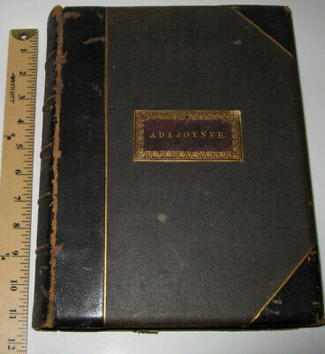£145.44 • Buy LEATHER;Works Of LORD BYRON!(MASSIVE BOOK!)STEEL ENGRAVED PLATES WOMEN!1869 GIFT