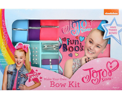 AU25.95 • Buy JoJo Siwa Licensed Make Your Own Bow Kit
