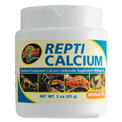 £7.07 • Buy Zoo Med Repti Calcium Without D3 - Best Calcium For Bearded Dragon