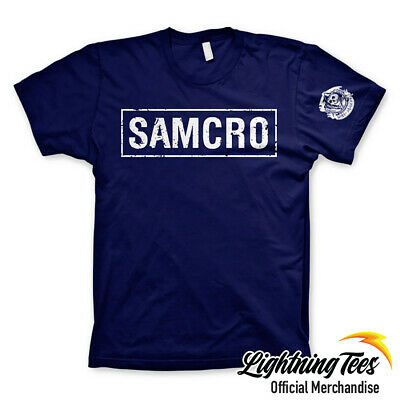£16.95 • Buy Official Sons Of Anarchy SAMCRO Biker T-Shirt