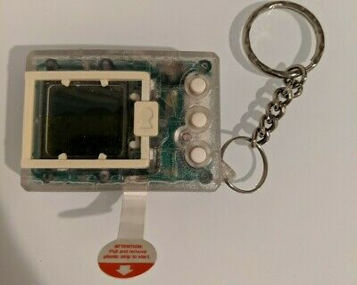 AU199.99 • Buy Bandai Original Digimon Virtual Pet Digivice Tamagotchi Clear 1997 With Keychain