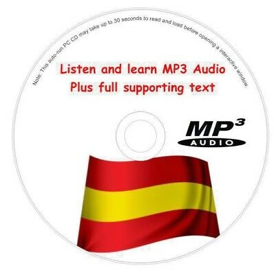 £1.69 • Buy Spanish Language Course Cd Easy To Learn System Mp3 Audio & Text Free Post
