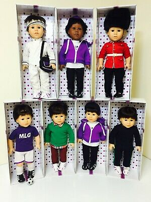 Genuine My London Girl Guy Boys 18  Dolls Outfits Clothes Various  - New Bagged • 14.95£