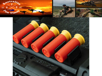 AU24.95 • Buy Set 6pcs Toy Shot Shells And Side Rack For The Toy M97 Pump Gel Blaster AU Stock