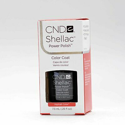 AU20.94 • Buy CND Shellac UV Color Asphalt .25oz