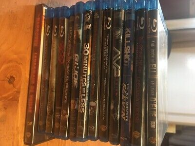 $ CDN35 • Buy Lot Of 13 Blu-Rays & Dvds - Mix Of Action, Adventure & Comedies