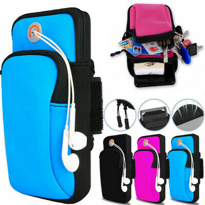 AU15.99 • Buy AU Sports Armband Running Jogging Gym Arm Band Pouch Cell Phones Holder Bag Case