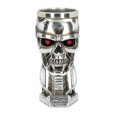 £28.99 • Buy T-800 TERMINATOR 2 Officially Licensed Head Goblet 17cm Nemesis Now - FREE P+P