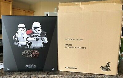 $ CDN385 • Buy HOT TOYS First Order Stormtrooper And Officer Sixth Scale NEW CANADA MMS335