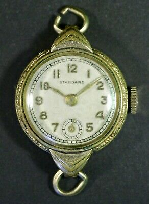 $ CDN5.99 • Buy Vintage Ladies Watch For Parts Repairs Standard Swiss Made