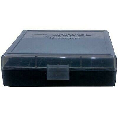 AU16.49 • Buy AMMO BOXES (2) SMOKE 100 Round 9MM / 380 - Berry's Plastic Container