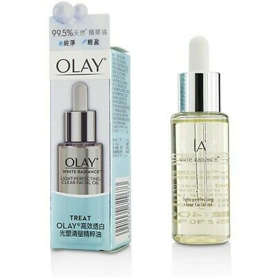 AU53.91 • Buy Olay White Radiance Light-Perfecting Clear Facial Oil 40ml Serum & Concentrates