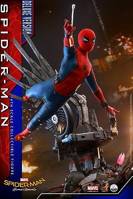 $ CDN973.01 • Buy Hot Toys Spider-Man: Homecoming 1/4th Spider-Man (Deluxe Version) Figure QS015