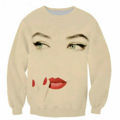 $ CDN22.58 • Buy Madonna Marilyn 3D Print Casual Sweatshirt Fashion MenWomen Hoodie Pullover Tops