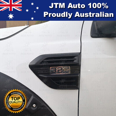 AU35.72 • Buy MATT Black Indicator Side Wind Cover Vent To Suit Ford Ranger PX2 PX3 2015-2019