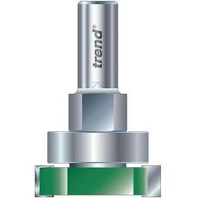 TREND ROUTER BIT C221 X 1/2 TCT Intumescent Strip Cutter Set 15mm X 40mm • 34.99£