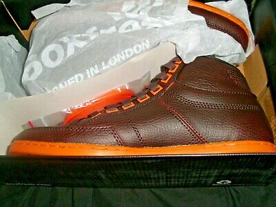 £29.99 • Buy Boxfresh Leather Brown Orange Fur Lined Lace-up Mens Trainers Bnib Size Uk 5  38