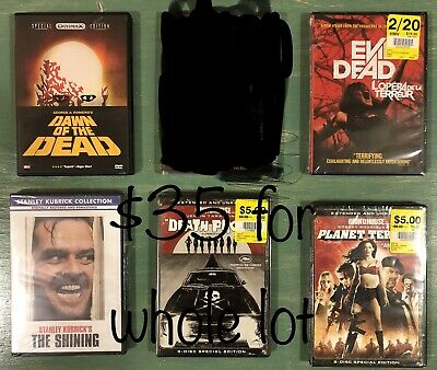 $ CDN35 • Buy Wholesale Lot Of 5 Horror Movies In Very Good To Like New Condition.