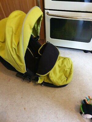 Graco Evo 3-in-1 PushPram Set Travel System (Lime Green) New Born - 3 Months On • 80£