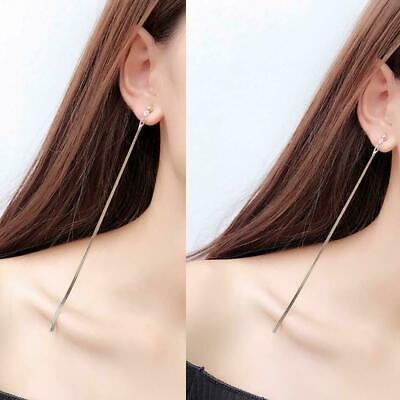KPOP's Best Trendy Ear Tassel Gilded Cold Wind Long Snake Bone Dangle Earrings • 3.99£