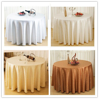 AU20.91 • Buy Round Dining Table Cloth Cover Topper Floral Tablecloth Wedding Party 180cm