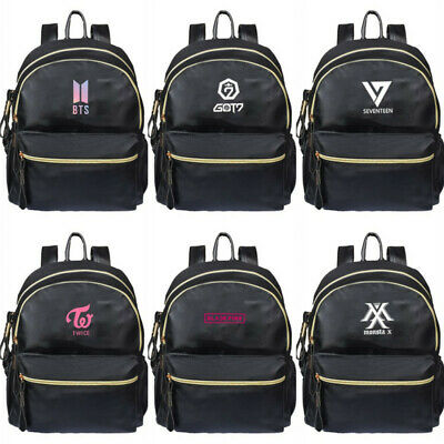 $21.59 • Buy KPOP BTS Backpack Bangtan Boys EXO GOT7 Blackpink Back To School Shoulder Bag