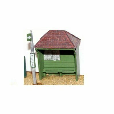 £9.40 • Buy Country Bus Shelter & Bus Stop - OO/HO Gauge Unpainted Figures Langley F21