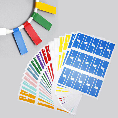 £7.46 • Buy 600Pcs Self-Adhesive Cable Labels Waterproof Wire Tear Resistant Marker Tag