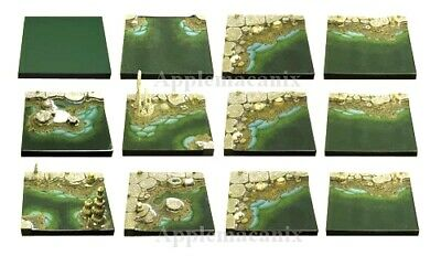 $ CDN391.83 • Buy NEW Dwarven Forge MM-025 PAINTED Cavernous Lake Set D&D Tiles Water Resin Cave
