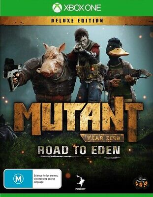 AU78 • Buy Mutant Year Zero Road To Eden Deluxe Ed XBOX One Microsoft XB1 Strategy Game