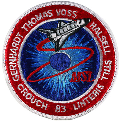 NASA Space Shuttle Columbia Mission STS-83 Astro Don Thomas Embroidered Patch • 7.99£