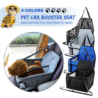 £13.35 • Buy 42*30*25CM Large Car Seat Carrier Cat Dog Pet Puppy Travel Cage Booster Belt  *