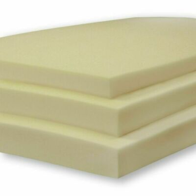 £7.46 • Buy White Upholstery Foam Sheet High Density CUT TO ANY SIZE AND ANY THICKNESS
